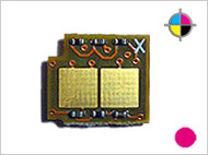1 counterchip for Canon LBP 5000 - Magenta