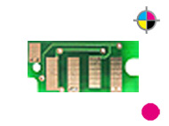 1 counterchip for DELL 1350/1355 C - Magenta