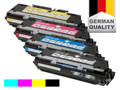 4 toner cartridges for HP Color LaserJet 3700