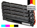 4 toner cartridges for HP Color Ljet Pro M452/M477