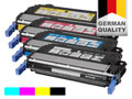 4 toner cartridges for HP Color LaserJet 4700