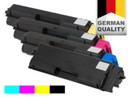 4 toner cartridges for Kyocera FS-C 2026/2126 MFP