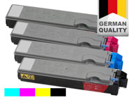 4 toner cartridges for Kyocera FS-C 5020 DTN