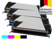 4 toner cartridges for Lexmark C 746/C 748