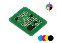 4 counterchips for OKI C-3520/3530 MFP (C/M/Y/K)