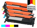 4 toner cartridges for Samsung CLX-3170/3175