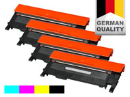 4 toner cartridges for Samsung CLX-3300/3305