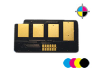 4x counterchips for DELL 2145 dn (C/M/Y/Bl.)