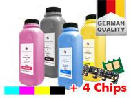 Refill-Toner Set+4 chips for Xerox Workcentre 6505